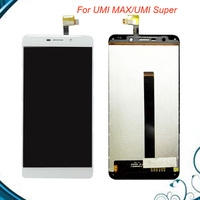 For Umi Super UMI MAX LCD Display Assembly Touch Screen 100 Tested OK LCD Digitizer Glass