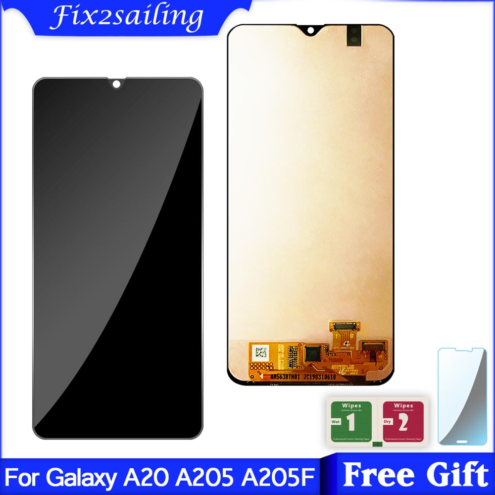 For Samsung galaxy A20 A205/DS A205F A205FD A205A Display Touch Screen Digitizer Assembly For Samsung A20 lcdFor Samsung galaxy A20 A205/DS A205F A205FD A205A Display Touch Screen Digitizer Assembly For Samsung A20 lcd