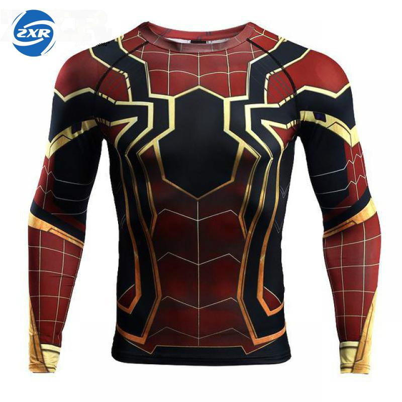 Boxing Sports Muay Thai Fighting Fitness Elasticity T Shirt Sweatshirts Boxing Clothing Long Sleeve Men Gym Fitness Sportswear