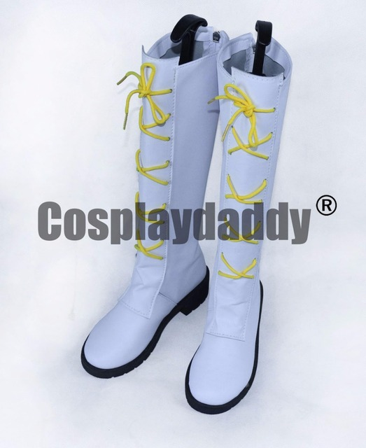 Ensemble Stars Nito Nazuna White Halloween Long Leather Cosplay ...