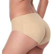 New 2 Colors Wwomen's Underwear Low-Waist Lady Padded Seamless Butt Hip Enhancer Shaper Panties Underwear Wholesale Plus Size