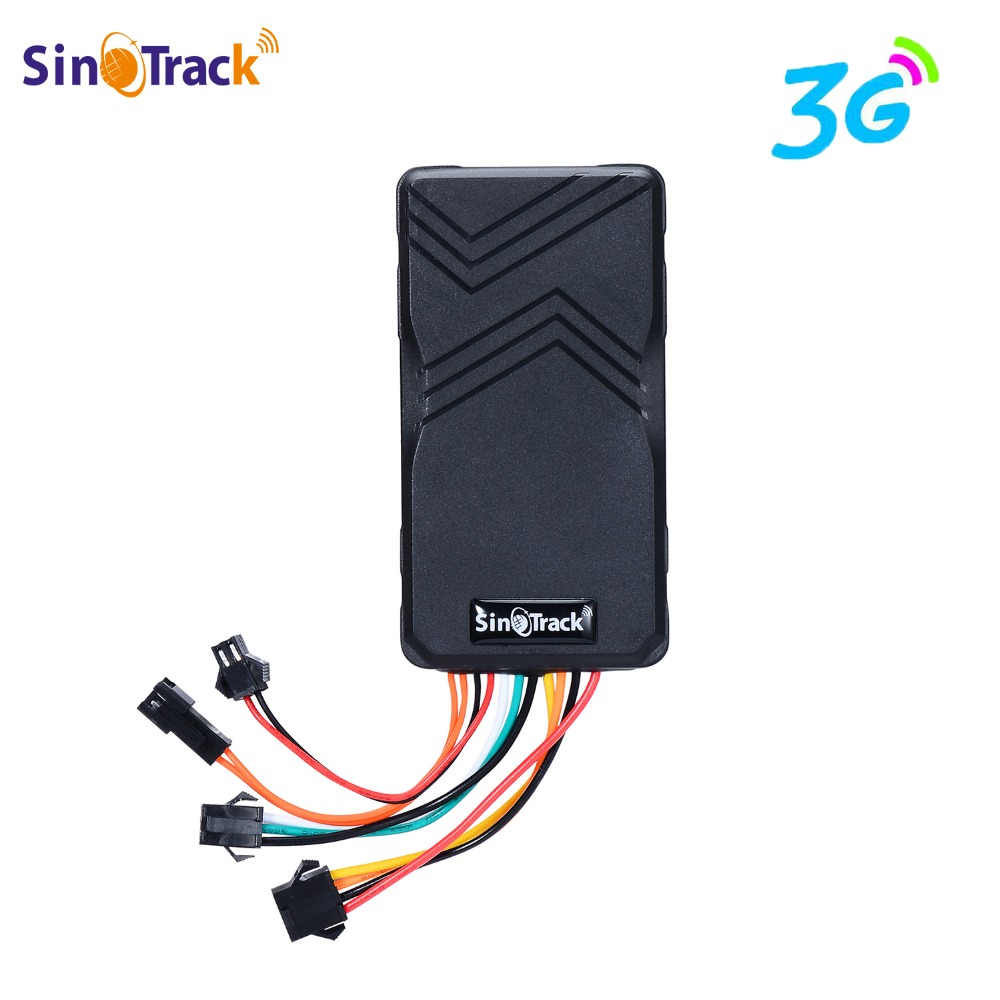3G WCDMA ST-906W GSM GPS tracker for Car motorcycle vehicle 3G tracking device with Cut Off Oil Power & online tracking software 3g wcdma gsm