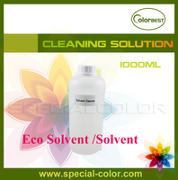 1000ml Eco Sol Ink Cleaner Solvent Printer Clean Liquid In Bottle For Roland Mimaki Mutoh Etc