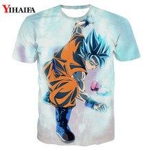 Men 3D Print T shirt Dragon Ball Z Casual Tee Shirts Fighting Super Saiyan Vegeta Graphic Man Tops dragon ball t