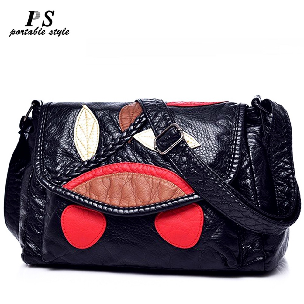 Genuine Leather Women's Handbags Cowhide Leather Shoulder CrossBody Bags Ladies Fashion Patchwork Women Bags Bolsas Feminina fashion women handbag genuine leather shoulder bags women messenger bags cowhide leather handbags women crossbody bags md b321