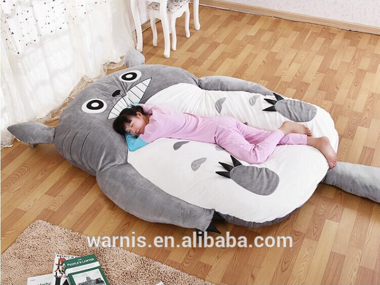 2 3mx1 9m Tatami Futon Totoro Stuffed Portable Double Sleeping Toy Bed Leisure Siting Floor Mattress Pad In Children Beds From Furniture On Aliexpress Com