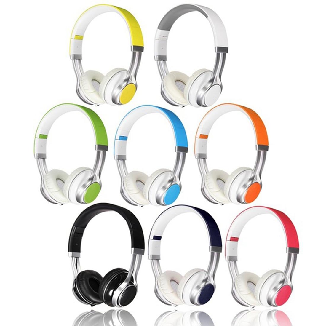 Marsnaska  New Stylish Best Headphones Fold Stereo Surround 3.5mm Headband Headset For Samsung For HTC With Microphone marsnaska brand new white