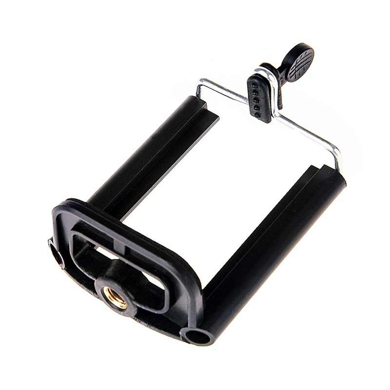 Rovtop Universal Ponsel Klip Penahan Dudukan Braket Adaptor untuk Kamera Smartphone Ponsel Tripod Berdiri Adaptor Monopod