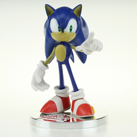 Free Shipping 6 Anime Game Sonic the Hedgehog 20th Anniversary Boxed 15cm PVC Action Figure Collection Model Doll Toys Gift