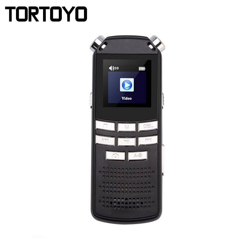 Portable 8GB Digital Voice Video Recorder 1.5 TFT Screen Sound Recording Audio Recorder Noise Reduction Camcorder HD Camera