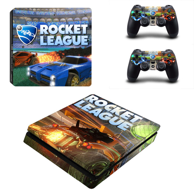 Rocket League PS4 Skin Sticker Decal for Sony PlayStation 4 Console
