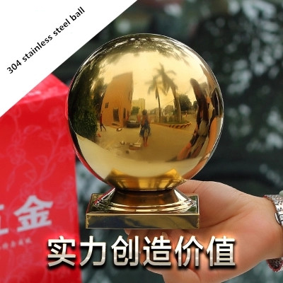 garden sphere stainless steel hollow ball stainless steel 304 decorative Decorative balls stainless steel sphere garden sphere gloden 304 stainless steel hollow ball steel ball ball ornaments decorative titanium balls 80 90 100mm 3pcs