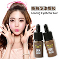 2 Colors/Lot New Brown Eyebrow Gel Long Lasting Waterproof Eyebrow Enhancer Makeup Women Cosmetics Eyebrow Makeup Kit Eye Brow