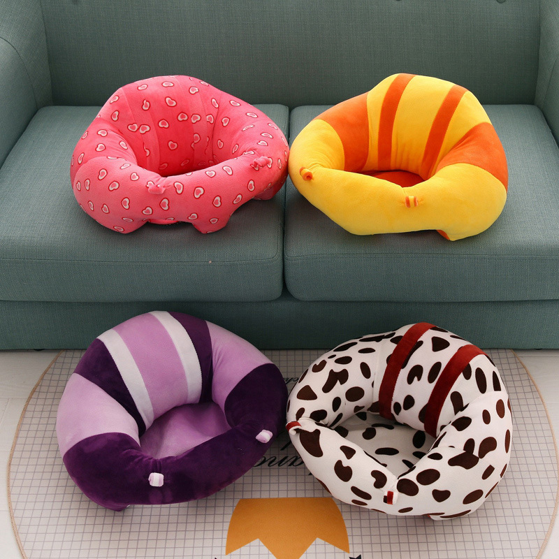 Baby sofa seat Feeding Chair Children Seat Sofa For Kids Sleeping Bed Baby Nest Puff Plush Toys pvc baby sofa inflatable kids training seat bath dining chair