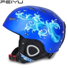 2019 Ski Helmet Professional Skiing Helmet For Adult and Kids Snow Helmet Safety Skateboard Ski Snowboard Helmet цена в Москве и Питере