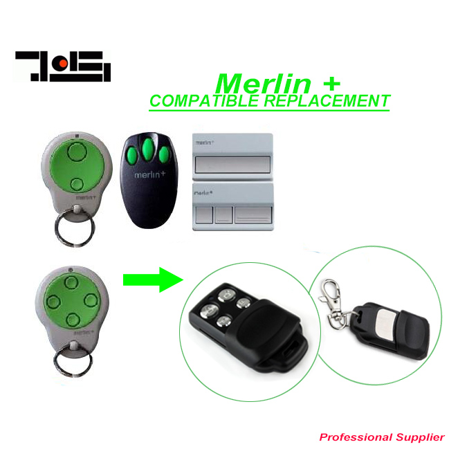 Merlin C945 plus Garage Door replacement remote Control top quality after market merlin plus compatible remote suit c945 940 933 dhl free shipping
