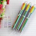 1 unid DIY Creativo Nuevo 6in1 Escribir Colorido Multicolor Bolígrafos Lindos Colores de La Escuela Oficina Papelería Regalo de La Promoción