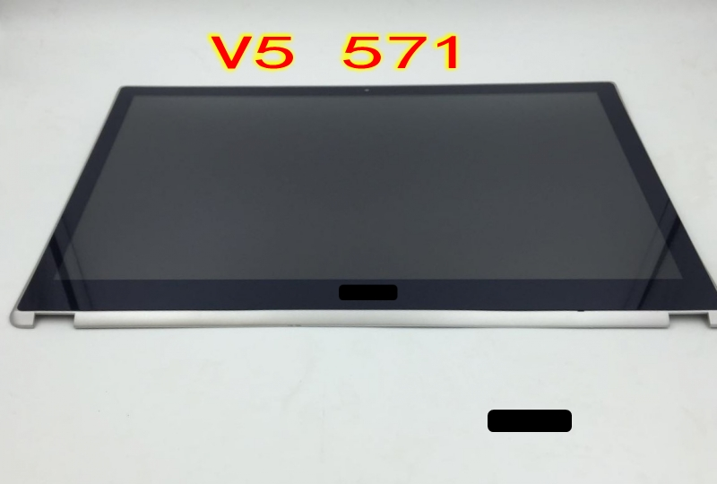 15.6 LCD Touch Screen Digitizer full Assembly Display hd For Acer Aspire V5-571 V5-571P V5-571PG new 14 lcd display touch screen digitizer assembly for acer aspire v5 431 431p v5 471 471p