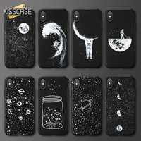 Case For Xiaomi Redmi Note 4 4X 5 6 Pro KISSCASE Moon Star Phone Case For Redmi 6 6A 5 5A S2 MI 8 9 9SE F1 Soft TPU Cover Shell