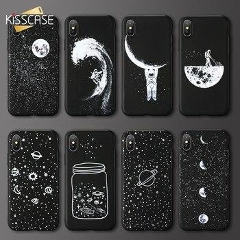 58ecebec5 Case For Xiaomi Redmi Note 4 4X 5 6 Pro KISSCASE Moon Star Phone Case Soft  TPU Cover For Redmi 6 6A 5 5A Plus S2 Accessory Funda
