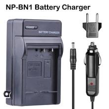 цена на NPBN1 NP BN1 NP-BN1 Car Charger DC Charger + EU Plug For SONY DSC TX9 T99 WX5 TX7 TX5 W390 W380 W350 W320 W360 QX100 W370 camera