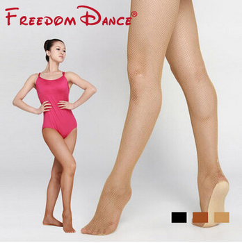 Women Professional Seamless Latin Fishnet Stockings Latin Dancing Tights Fishnet Tights Dark Tan Black Fishnet Stockings tights