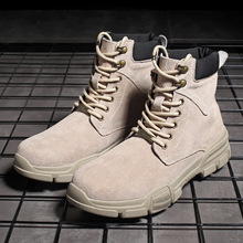 Spring Winter  Men Military Boots Quality Special Force Tactical Desert Combat Ankle Boats Army Work Shoes Leather Snow Boots 48 все цены