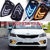 LED,2017~2018 KlA K2 daytime Light,car accessories,K2 fog light,motorcycle,K2 headlight;soul,k5,sorento,kx5,Sportage R,K 2 ,Rio