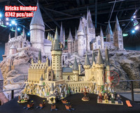 2018 New Harry Magic Potter Hogwarts Castle fit legoings harry potter castle Building Blocks Bricks Kids 71043 kid DIY Toys gift