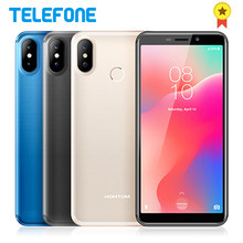 HOMTOM C1 5.5'' 18:9 Android GO Mobile Phone 1GB 16GB 3000mAh SW 13MP Camera Fingerprint ID Dual Sim GPS3G WCDMA Smartphone(China)