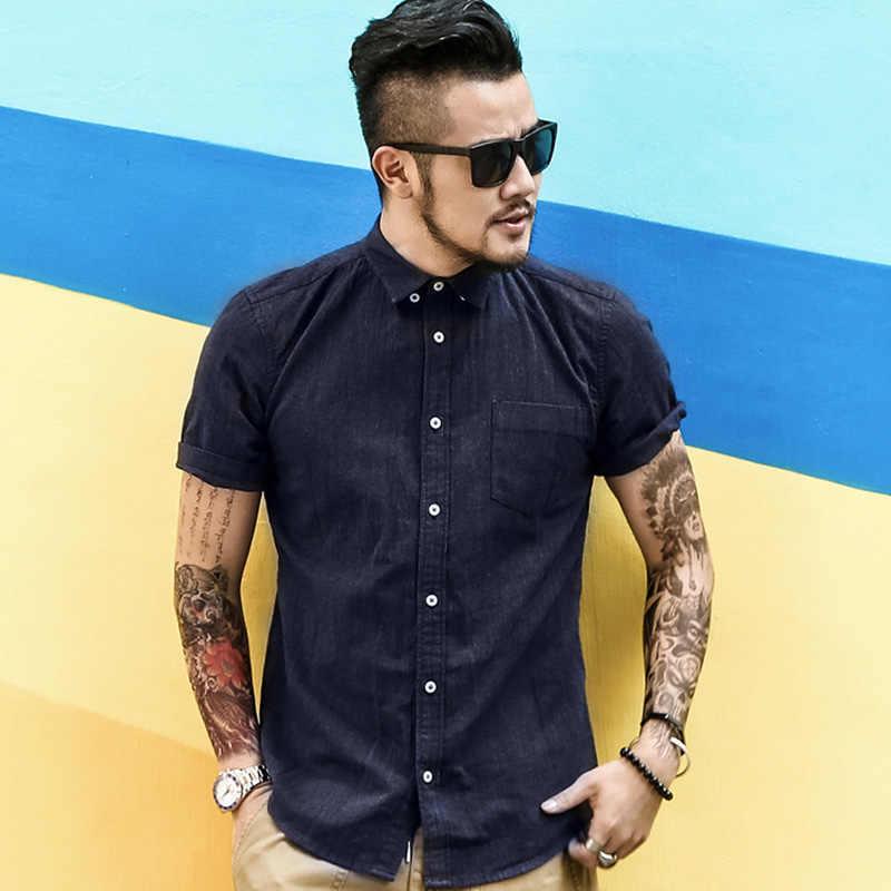2017 新メンズカジュアル夏のリネンシャツメンズソリッドスリムフィット高品質シャツ男性英国スタイルの人気シャツ男性ファッションデザイン
