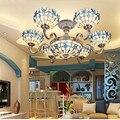SGROW сиреневая люстра в форме морской раковины для спальни гостиной европейский LED Lampara Арт Декоративные Подвесные Лампы осветительные прибо...