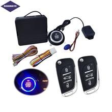 DOXINGYE Car Alarm System Engine Push Button Remote Control Start Keyless Entry Burglar Door ON/OFF