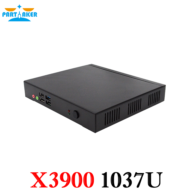 Partaker X3900 Industrial PC With 3G Sim Card Slot Intle Celeron1037U Dual Core 1 8Ghz Processor