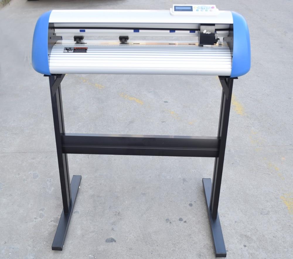 Vicsign 24 HWQ630 Cutting Plotter With Stand Stencil Heat Transfer vinyl Free USB Driver Cutter Plotter Automatic Contour Cut