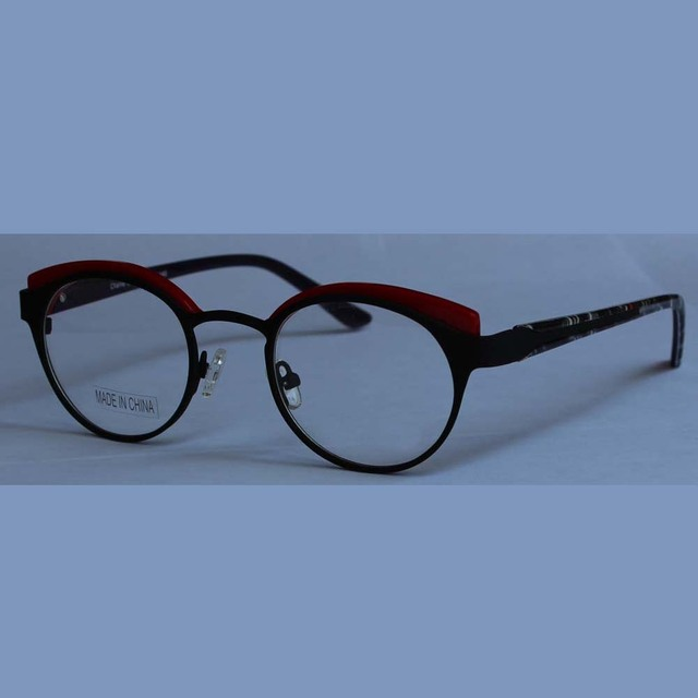 49af5de915 2017 new round glasses retro vintage hot sale crosslink eyeglasses Optical  Frame marcas Spectacle quadro Sale