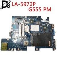 KEFU NAWA2 LA 5972P for lenovo G555 notebook G555 laptop motherboard NAWA2 LA 5972P with GPU Socket S1 Test original mothebroard