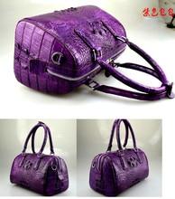 100 genuine crocodile leather skin handbag 2016 fashion alligator skin women tote cross body bag