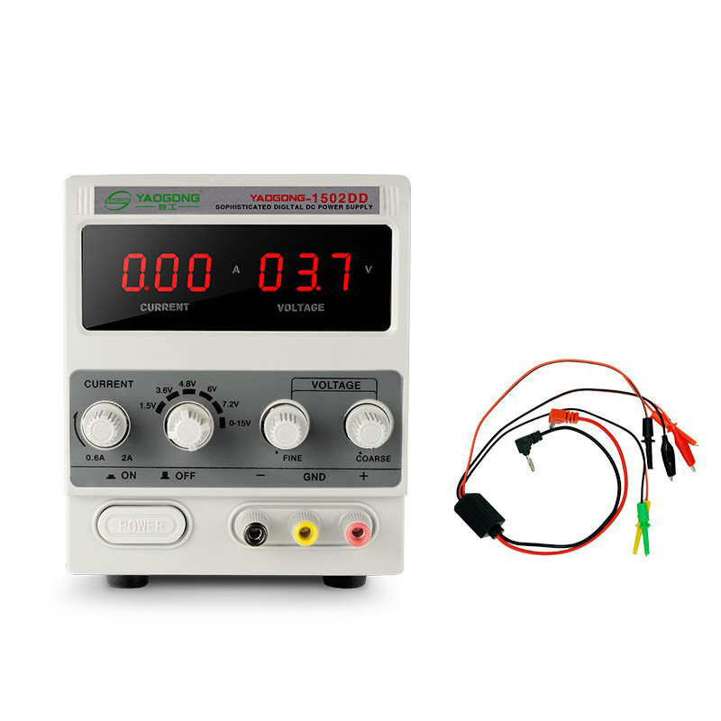 1502DD 15V 2A AC to DC Regulated Power Supply Adjustable Current for Mobile Phone Repair 220V