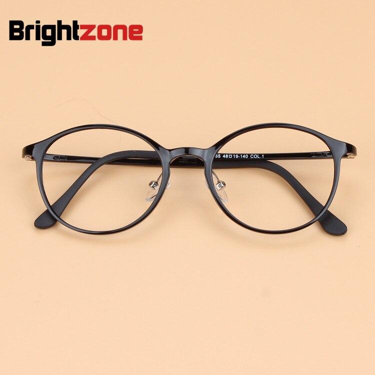 2019 Korea Supter Light Men's Brand Johnny Depp Vintage Carbon Steel Eyeglasses Women Tungsten Retro Round Myopia Glasses Frame