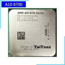 AMD  APU  A10 6700 APU A10 6700k AD6700OKA44HL Socket FM2 QUAD CORE CPU 3.7GHz