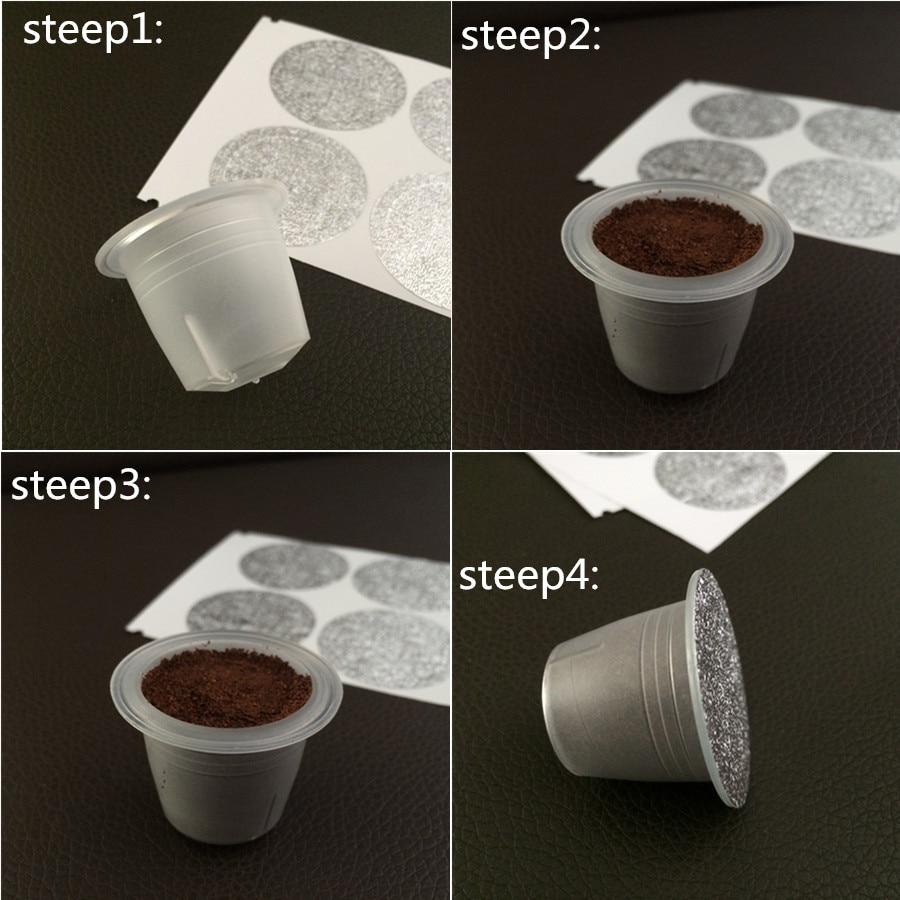 50pcs inside PP capsule compatible nespresso coffee cafe machine