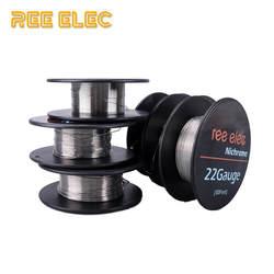 РЗЭ Елец 10 м/roll Ni80 электронных сигарет Отопление провода для RDA RTA распылитель для DIY предварительно собранный Койл нихромовой проволоки