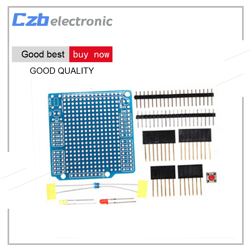 DIY Kits Expansion Board Welding Components Prototype PCB Board Suite Electronic Circuit DIY Shield for Arduino