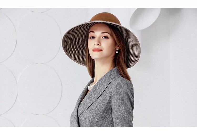 4_ladies wide brim hats