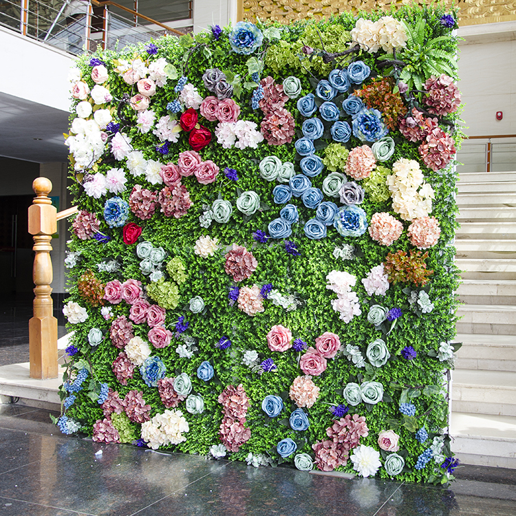 Us 5076 6 Off2 M X 2 M Rumput Hijau Background Dengan Warna Warni Pernikahan Bunga Dinding Bunga Backdrop Mawar Peony Pernikahan Dekorasi In