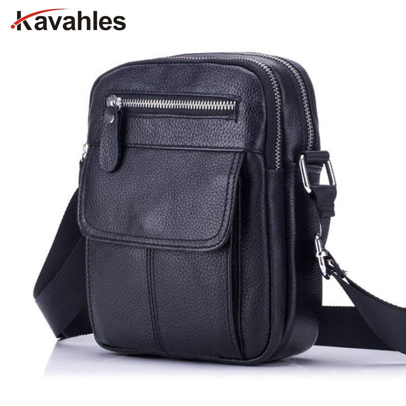 8a0b3ca239 Detail Feedback Questions about Genuine Leather Bag Men Messenger Bags  Men s Crossbody Bag Small sacoche homme Satchel Man Cow Leather Shoulder  Bags PP 1061 ...