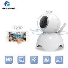 hot deal buy graneywell 720p ip camera wireless cctv len baby monitor p2p ip cam surveillance camera home security wifi night vision camera