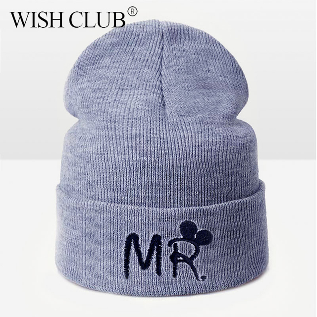 משפחת תלבושת חורף כובע לילדים ילדה ילד יפה Cartoon ילדים Skullies בימס חם סרוג חורף כובע נשים gorros מתנה