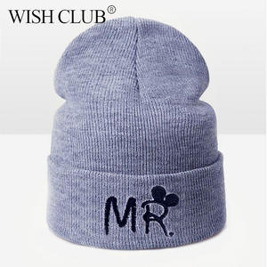 51e786f600c WISH CLUB Winter Hat For Girl Beanies Knitted Hat Women
